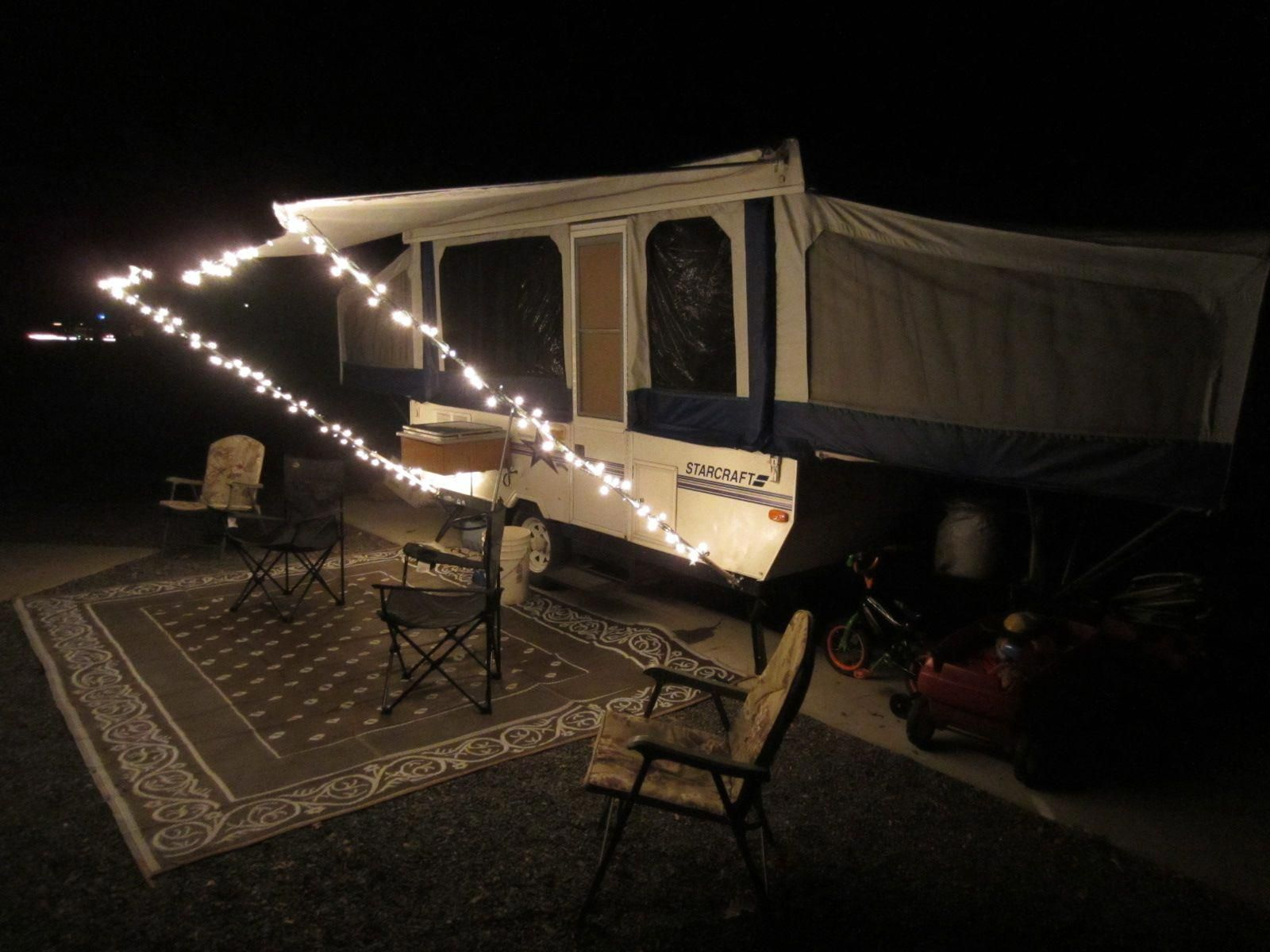 Simple, CHEAP, Awning Mod #campingcheap | Jayco pop up ...