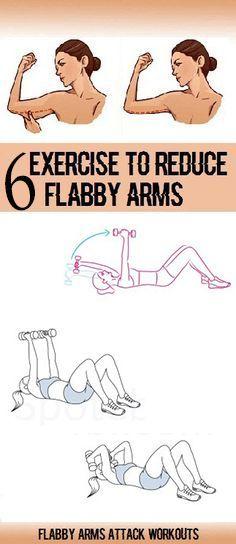 6 Übungen, um ARM Flab zu Hause loszuwerden - Mach es Selbst #armexercises