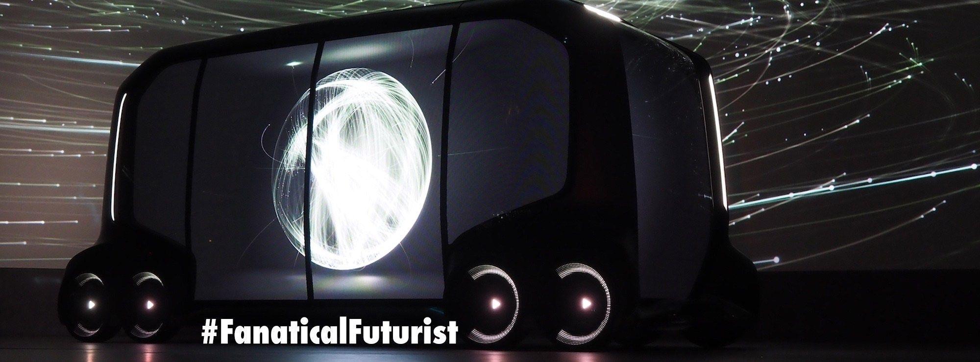 Toyota's autonomous vehicle concept signals the death of the car – By Matthew Griffin Futurist and Keynote Speaker  @Toyota #futurist #AutonomousVehicles
