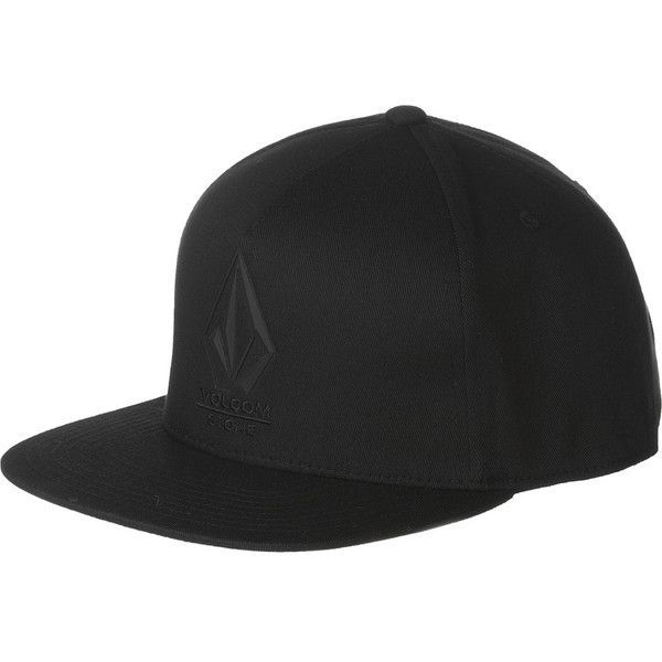 Volcom Bevel 110 Flexfit Snapback Hat ($24) ❤ liked on Polyvore featuring  men's fashion
