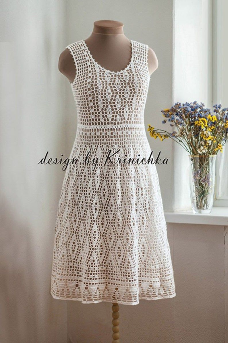Crochet Wedding Dress Pattern In English And In Russian Boho Etsy Crochet Wedding Dress Pattern Crochet Top Dress Crochet Wedding Dresses [ 1192 x 794 Pixel ]