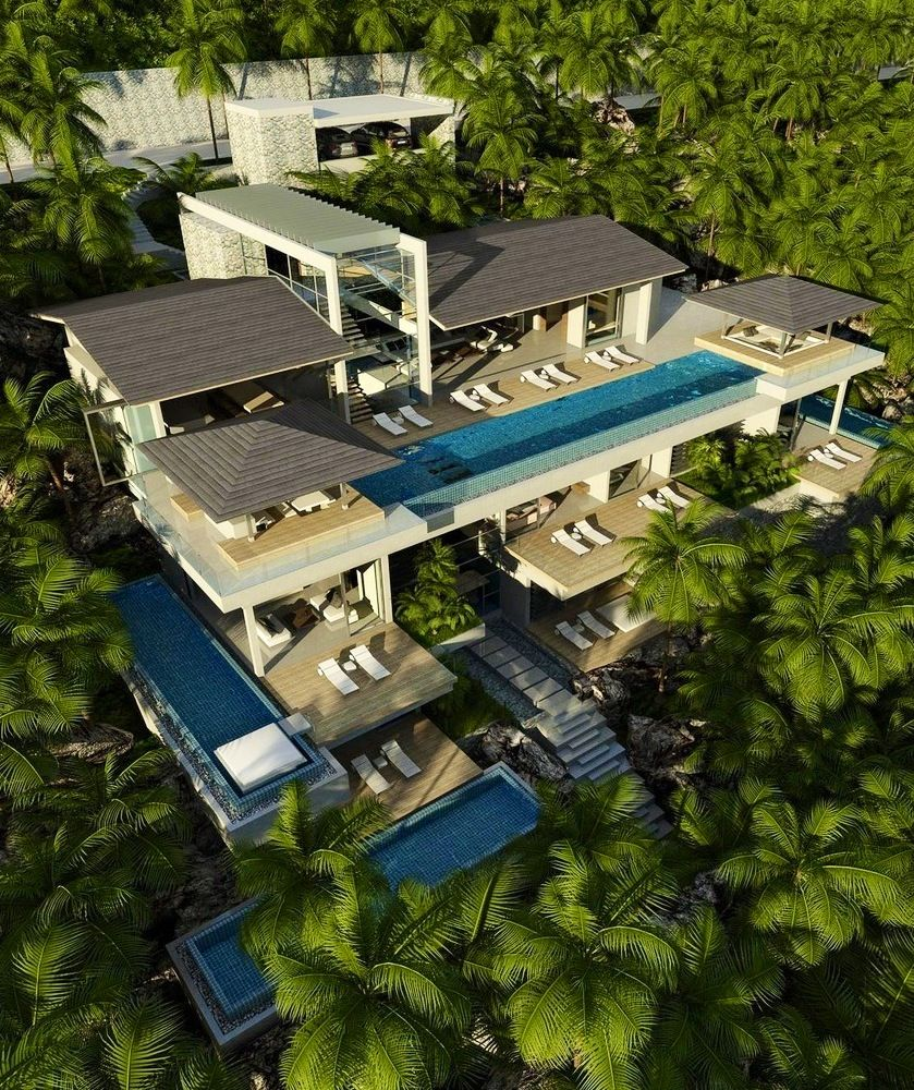 Pin By Nora Mhaouch On Dream Houses: Casas De Playa, Casas