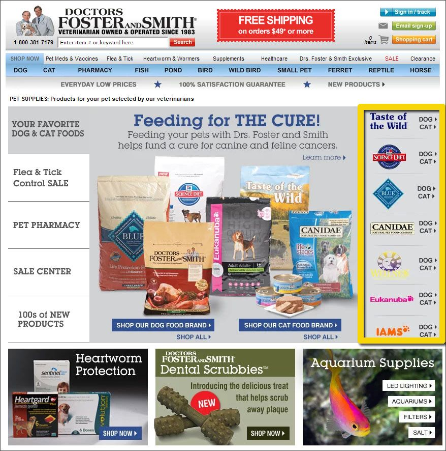 An Ecommerce Prescription For Drs Foster Smith Drsfosterandsmith Foster And Smith Prescription Fish Pond