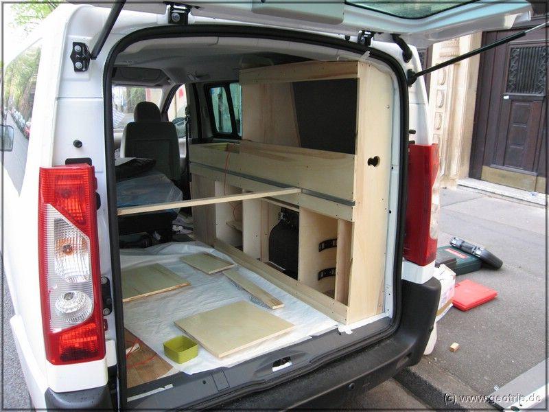 Wohnmobilselbstausbau Truck CamperCamper VanCaravan InteriorsVan