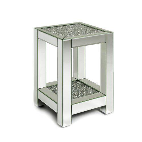 Sarai 2 Tier Side Table Rosdorf Park Side Table With Storage Cube Side Table Round Side Table