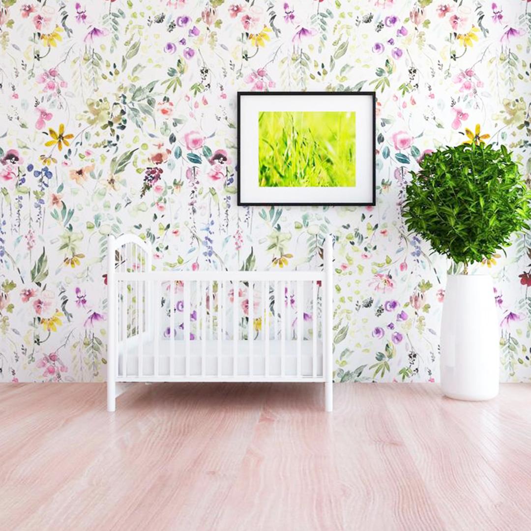 Meadow Fl Wallpaper Project Nursery