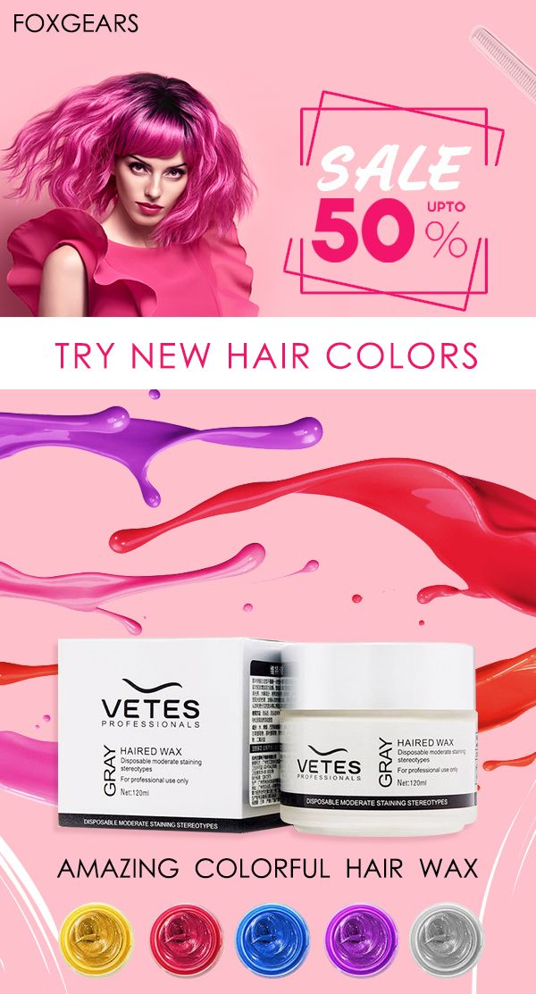 Washable Hair Color Wax For Men And Women Enjoy Everyday Life To