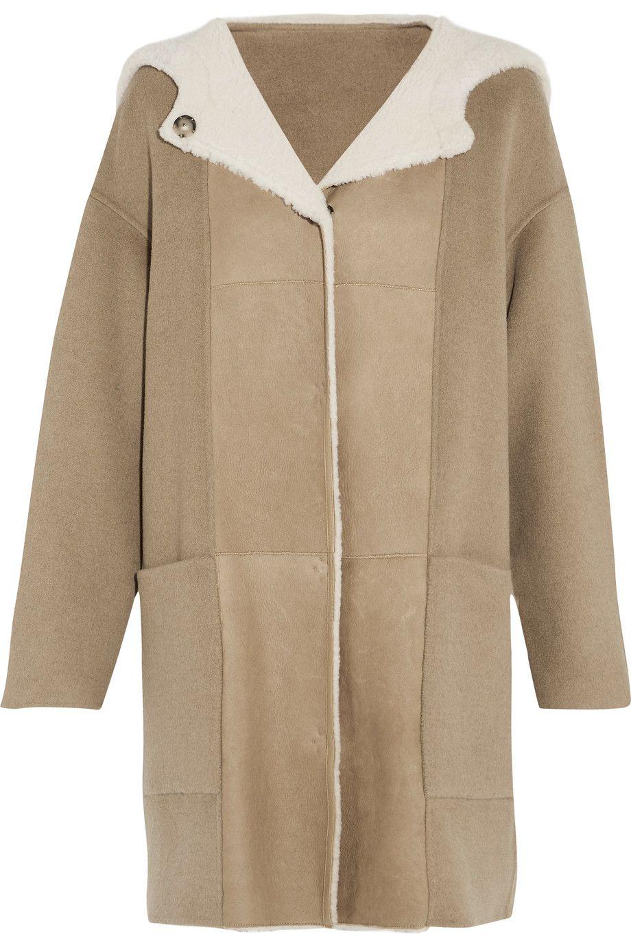 Yves Salomon Woman Reversible Shearling Vest Antique Rose Size 40 Yves Salomon Cheap Sale 100% Authentic Sale Official mOL2Jj