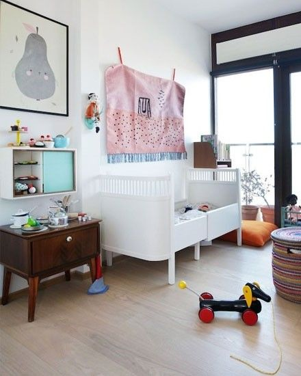 Une chambre d\'enfant scandinave vintage | Kids rooms, Creative kids ...