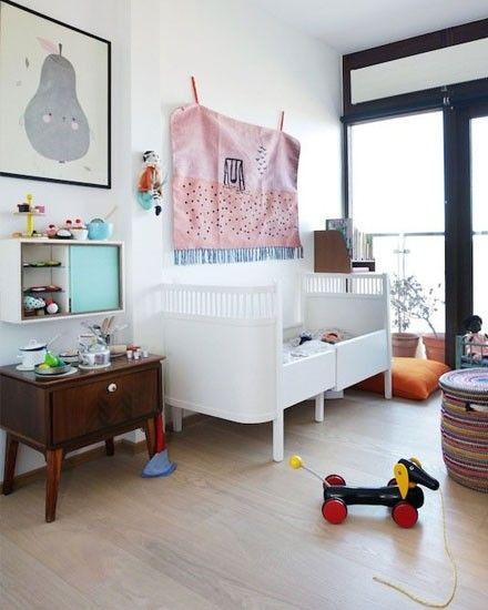 Une chambre d\'enfant scandinave vintage | Chambre enfant, Murs ...