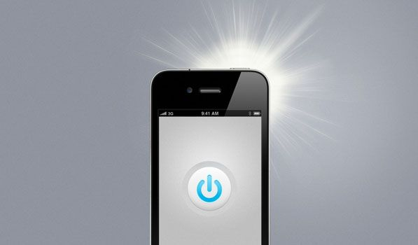 how to turn off iphone 5 flashlight