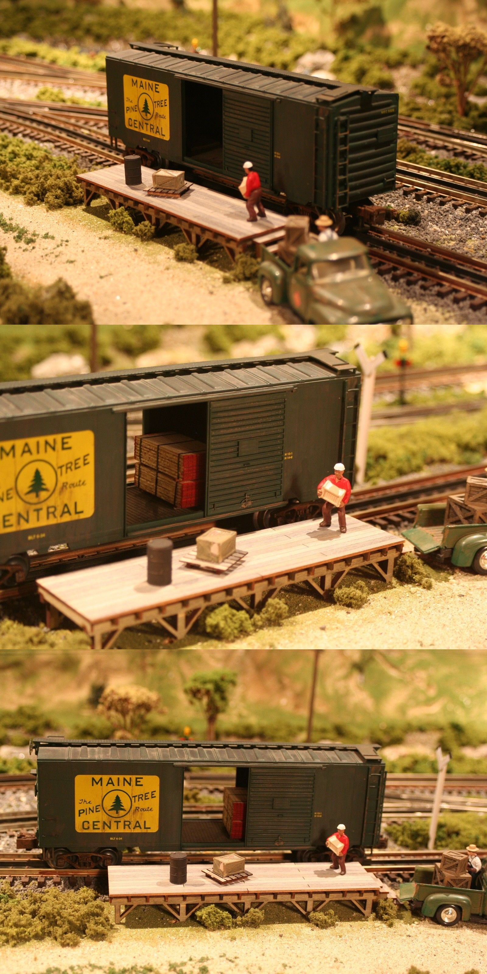 Buildings Tunnels and Bridges 99807: O Scale Loading Dock