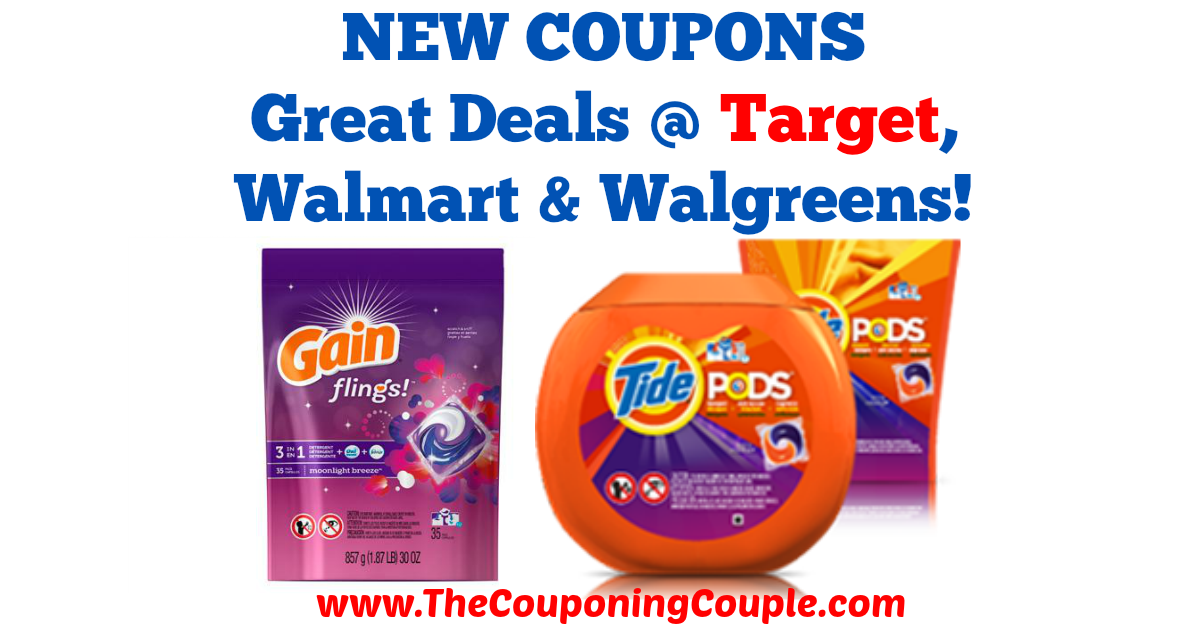 Great Deals on Tide PODS + Gain Flings with NEW Coupons