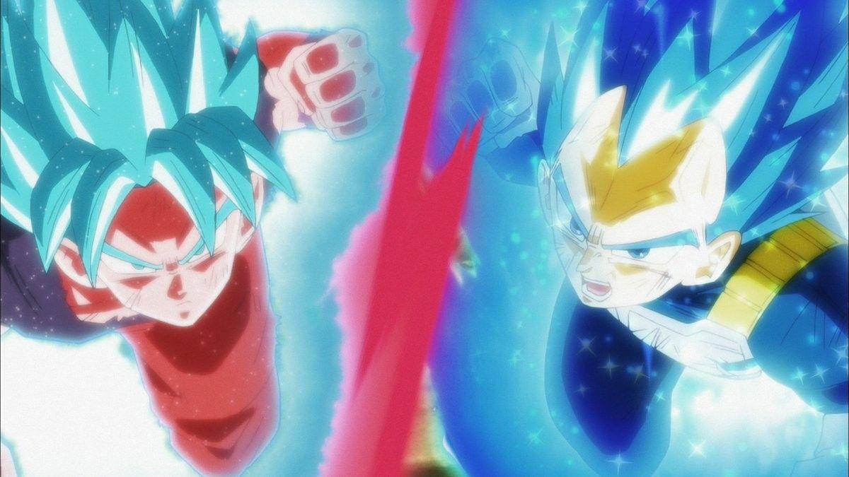 Goku And Vegeta Dragon Ball Super Dragon Ball Anime Dragon Ball