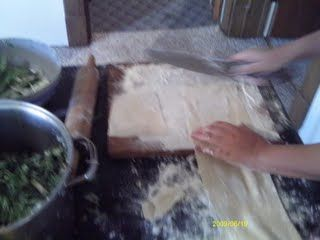 Pandor's Recipe Blog: How to Make Fresh Egg Roll Wrappers