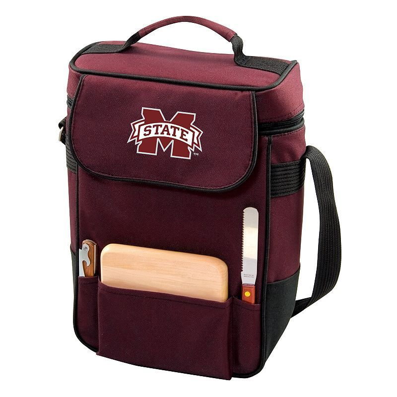 Mississippi State Bulldogs Insulated Wine Cooler, Red