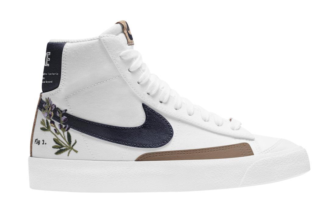 Nike Blazer Mid 77 Indigo Dc8246 100 Release Date Sbd In 2021 Indigo Shoes Pretty Sneakers Nike Blazer