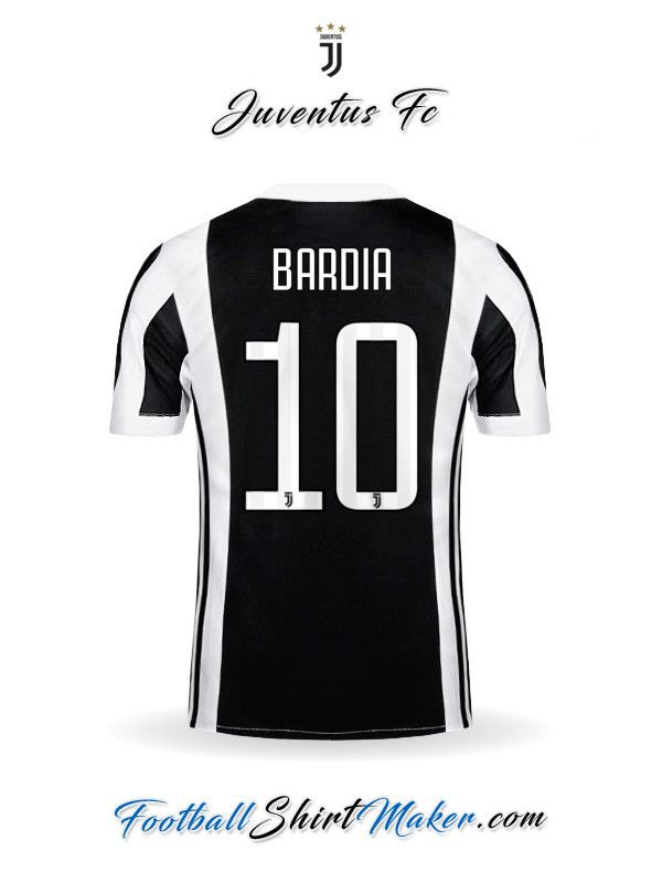 finest selection c64cc 06450 Jersey Juventus FC 2017/2018 Bardia 10   Kit   Juventus fc ...