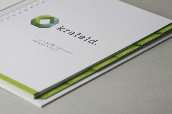 Corporate Design Manual Stadt Krefeld Logo Von