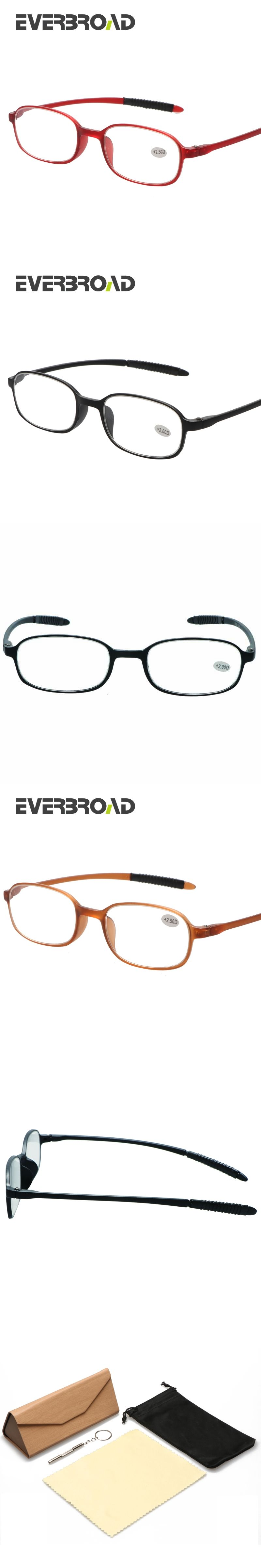 e4af056aa0 High Quality Reading Glasses TR90 Frame Slim Eyeglasses Multi-Degree For  The Aged Light And