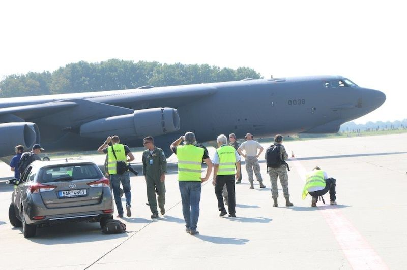 Bombardér B-52 Stratofortress