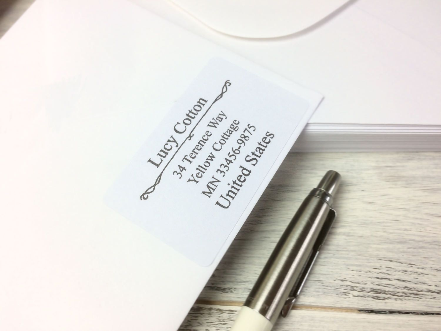 Address Labels, return address stickers, Custom address stickers ...