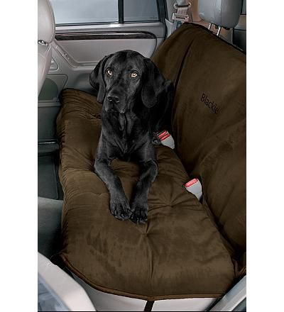 Eddie Bauer Back Seat Car Cover For The Ti Babe S Roadtrips