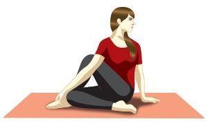 yoga quotes  ardha matsyendrasana sitting half spinal