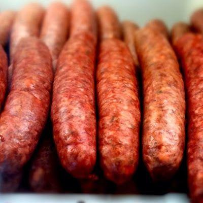 Wild Ed's Texas Outdoors: Texas Style Link Sausage