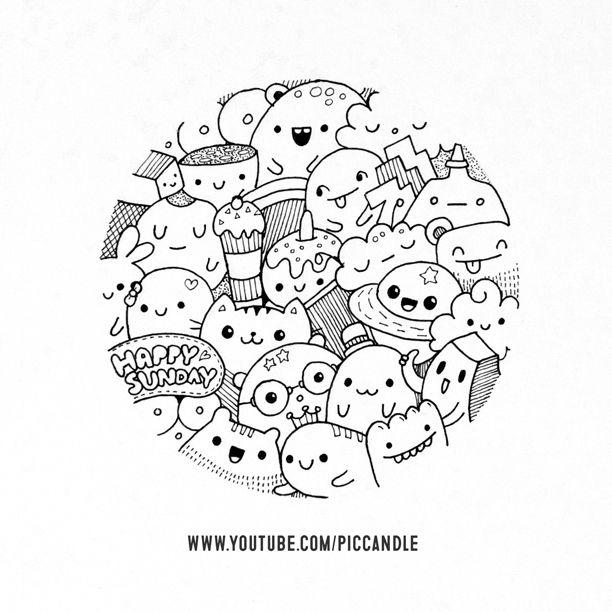 Happy Sunday Doodle Doodle Piccandle Watch This Doodle