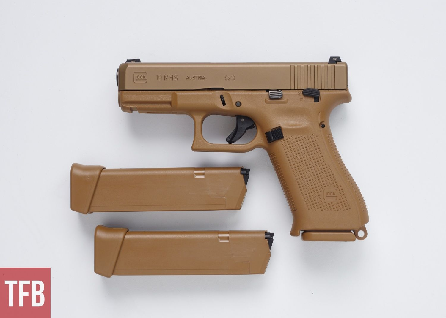 Glock introduces the Glock 19X  Essentially a Glock 17 frame, with a
