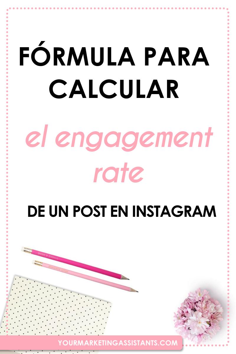 Cómo Calcular El Engagement Rate En Instagram Yourmarketingassistants Instagram Negocios Emprendedores Lead Generation