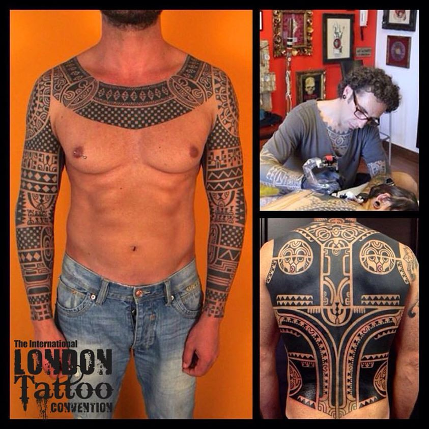 Marco Wallace - Wallace Tattoo, Italy will be attending the 11th London Tattoo Convention, 25/26/27 September 2015 Tobacco Dock