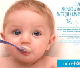 """Unicef lanza su campaña sobre primera infancia: """"1000 días para toda la vida"""""""