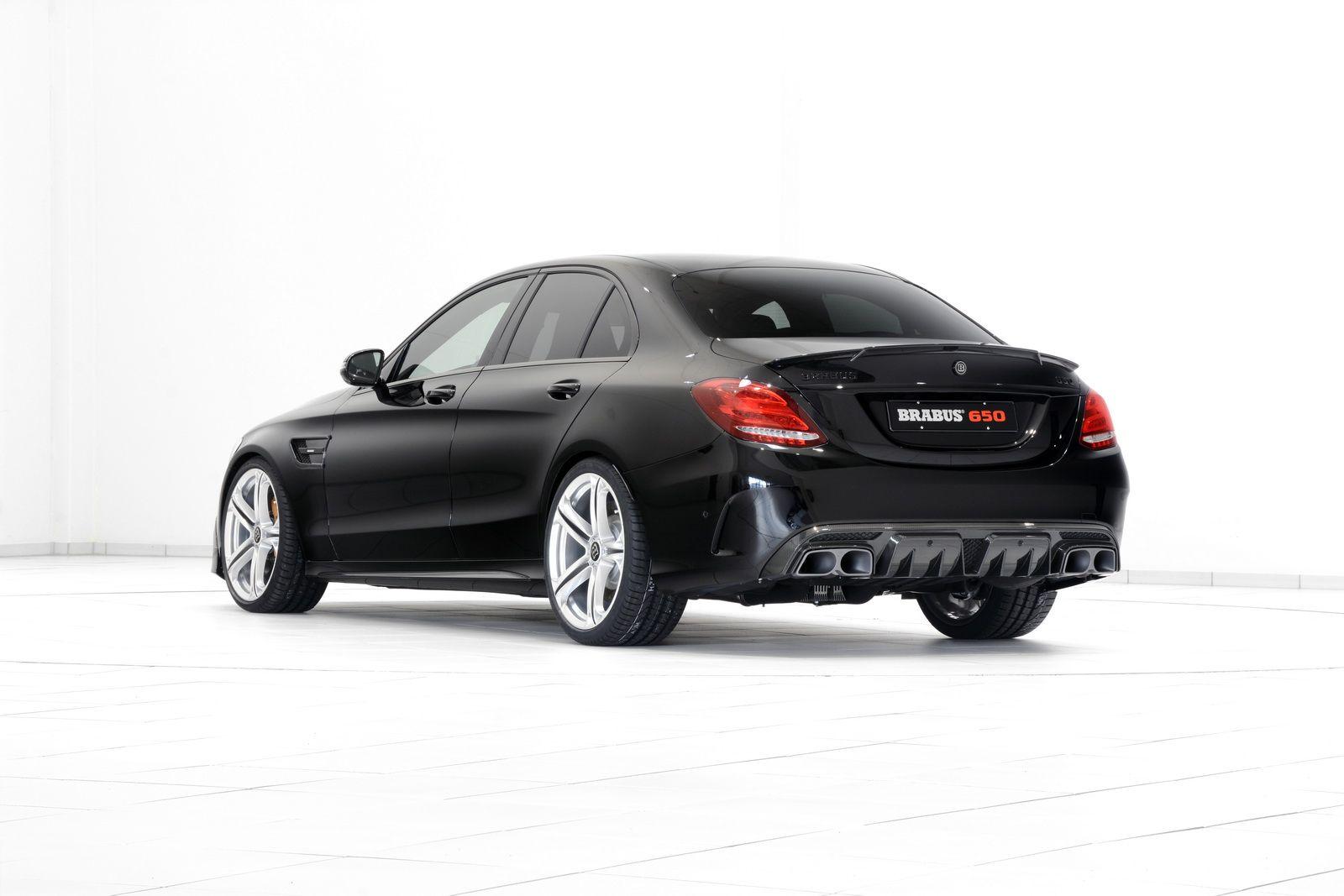 Brabus Vindt Mercedes C63 S Amg Te Min Geeft Anabolen A B M W