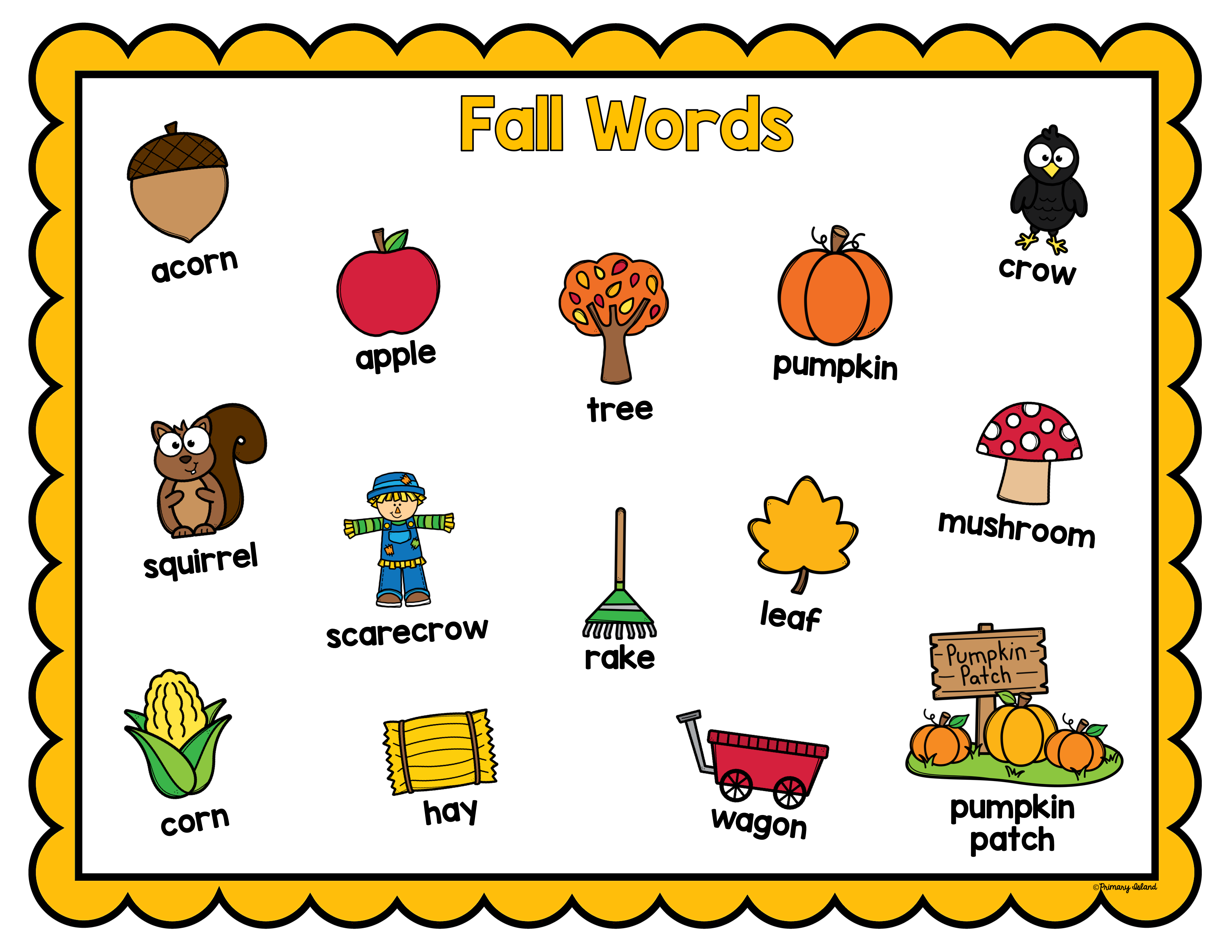 Fall Writing And Word Work Fall Writing Fall Writing Activities Fall Words [ 2550 x 3300 Pixel ]