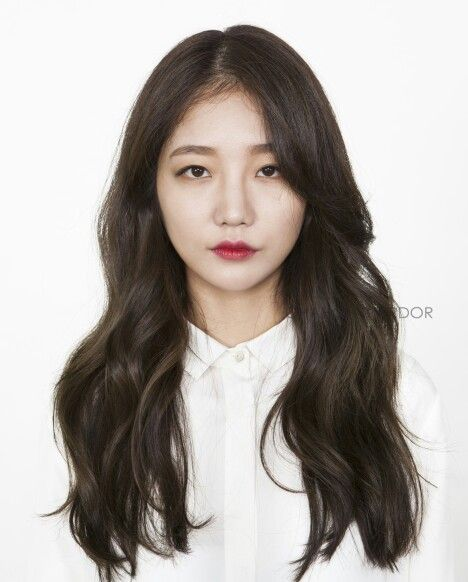 Korean Long Celebrity Hair Korean Long Hair Long Layered Hair Long Hair Styles