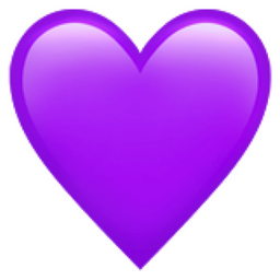 A Heart Is Used To Symbolize The Emotion Of Love Humans Have Long Associated The Feeling Of Love With The Heart Heart Emoji Purple Heart Tattoos Purple Emoji