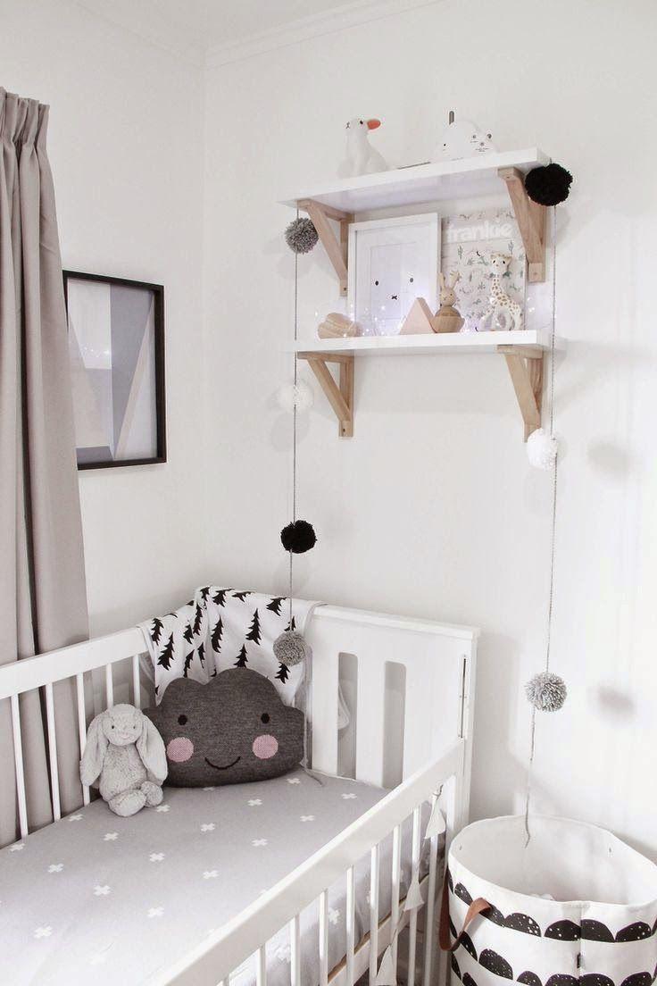 Une chambre pour un b b surprise babies scandinavische babykamer babykamer et kinderkamer - Chambre d enfant mixte ...