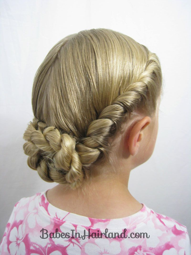 Twisted Hairstyles Interesting French Twisted Updo From Babesinhairland  Girls Hair