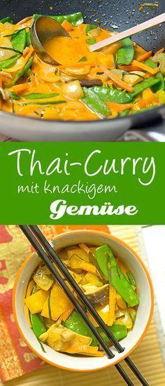 Thai-Curry mit knackigem Gemüse #vejetaryentarifleri