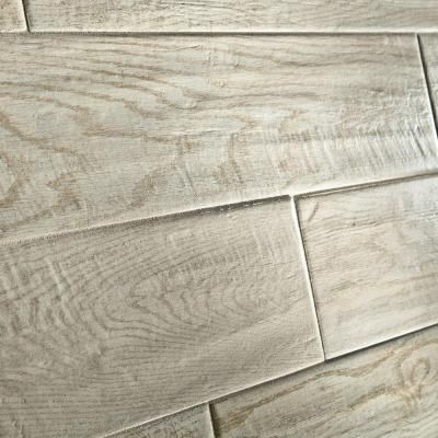 White Washed Wood Tiles In A Herringbone Pattern Marazzi Montagna Wash 24 Glazed Porcelain Floor And Wall Tile Sq At The Home Depot