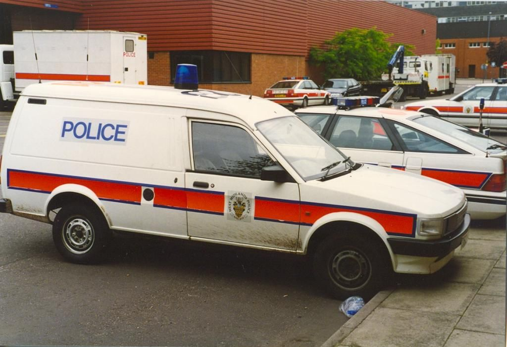Photos Of West Midlands Police Cars From The 1980S