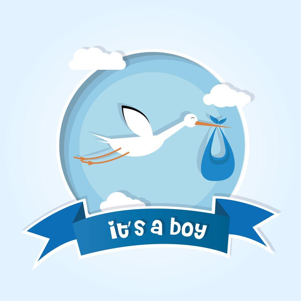 صور تهنئة بالمولود 2019 الف مبروك المولود الجديد New Baby Products Vector Free Boys
