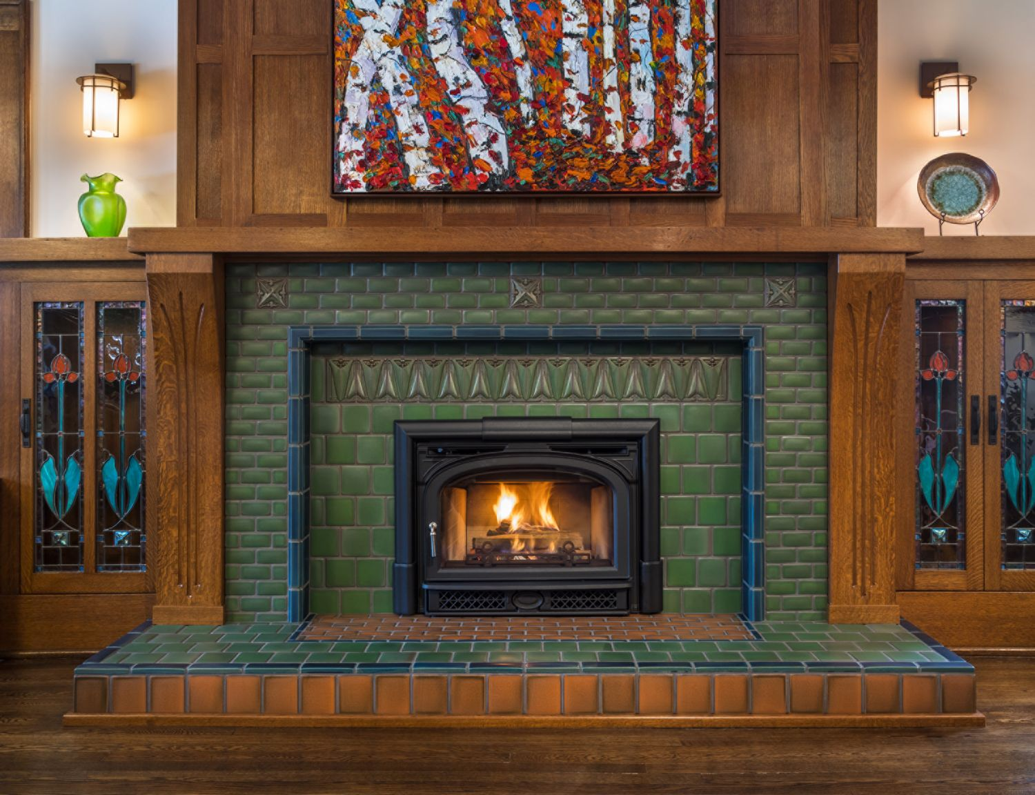 39+ Arts and crafts fireplace tile surround info