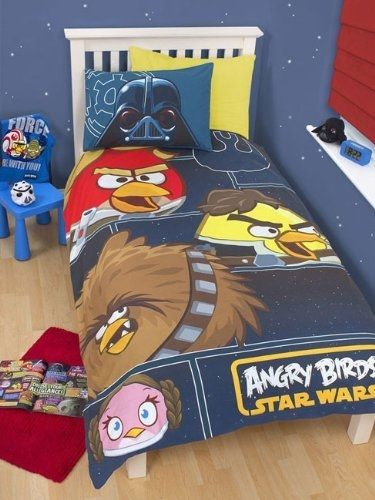 Angry Birds Star Wars Rebels Panel, Angry Birds Star Wars Full Size Bedding