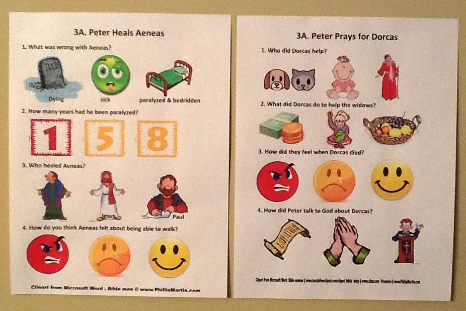 peter and dorcas coloring page - peter heals aeneas dorcas worksheets june16 peter