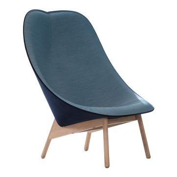 Hay Lounge Chair Uchiwa Lounge Chair | Bank en stoel woonkamer ...