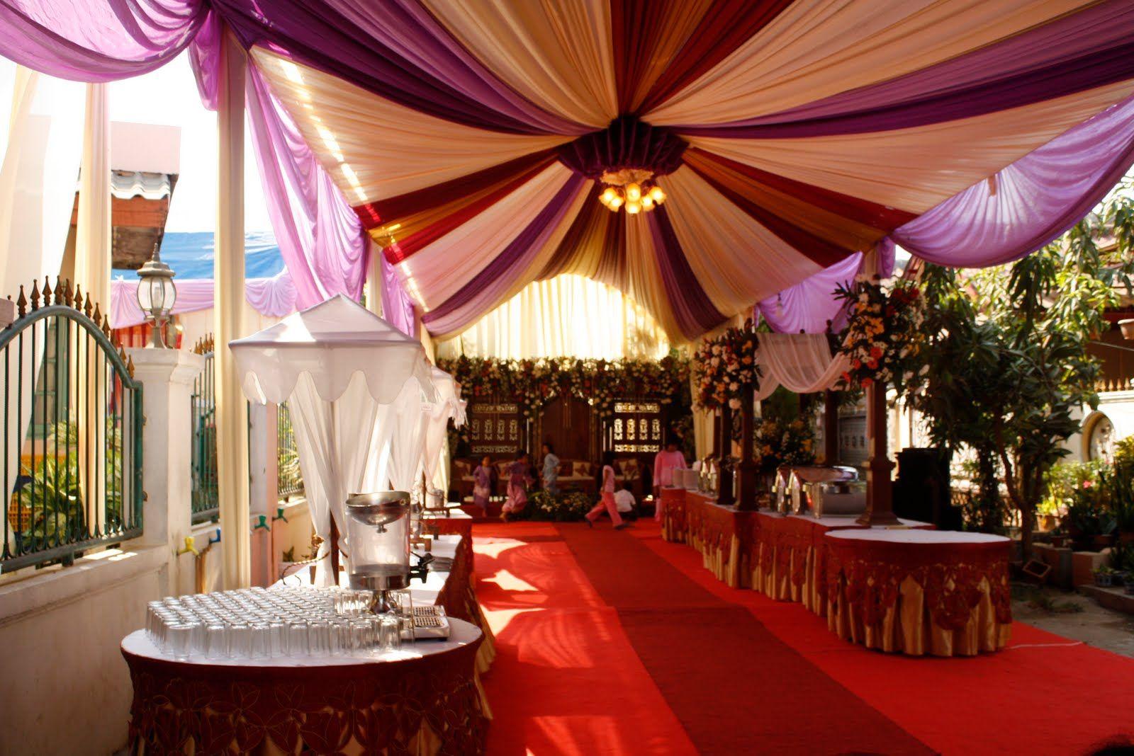 Inspirasi Konsep Pernikahan Di Rumah Favorit Pernikahan