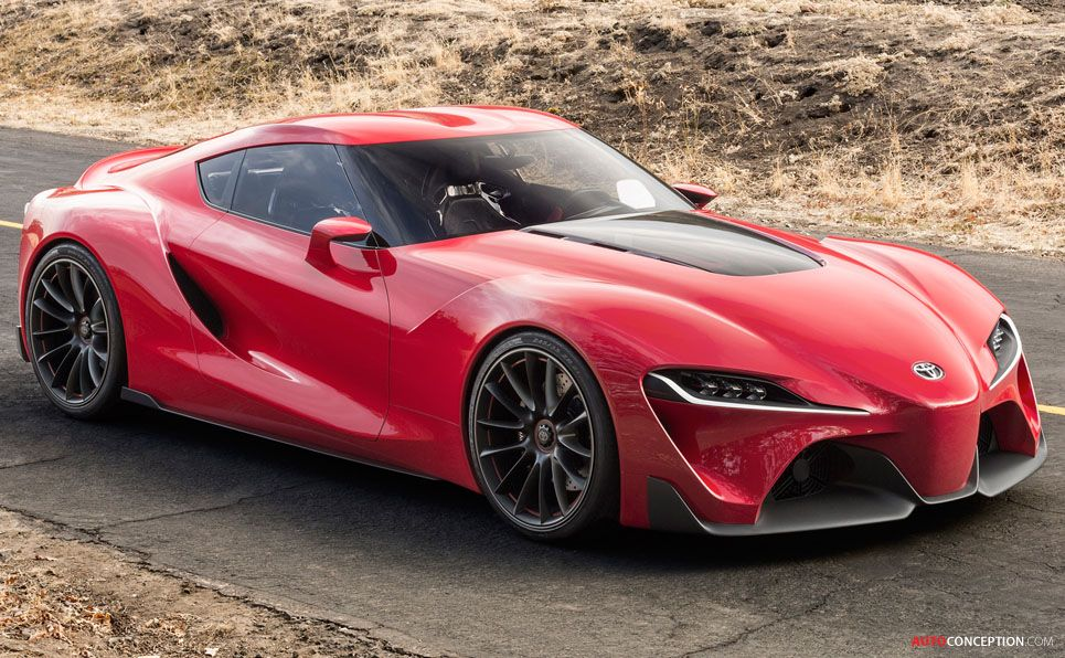 Ft 1 Concept To Mark Beginning Of Design Revolution At Toyota Autoconception Com Toyota Concept Car New Toyota Supra Toyota Supra